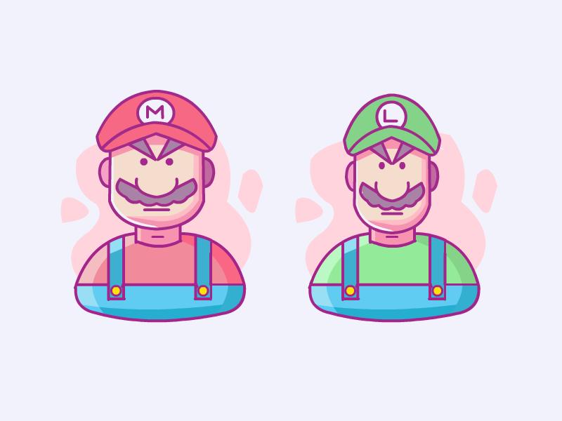 Mario and Luigi snes nintendo super mario mario