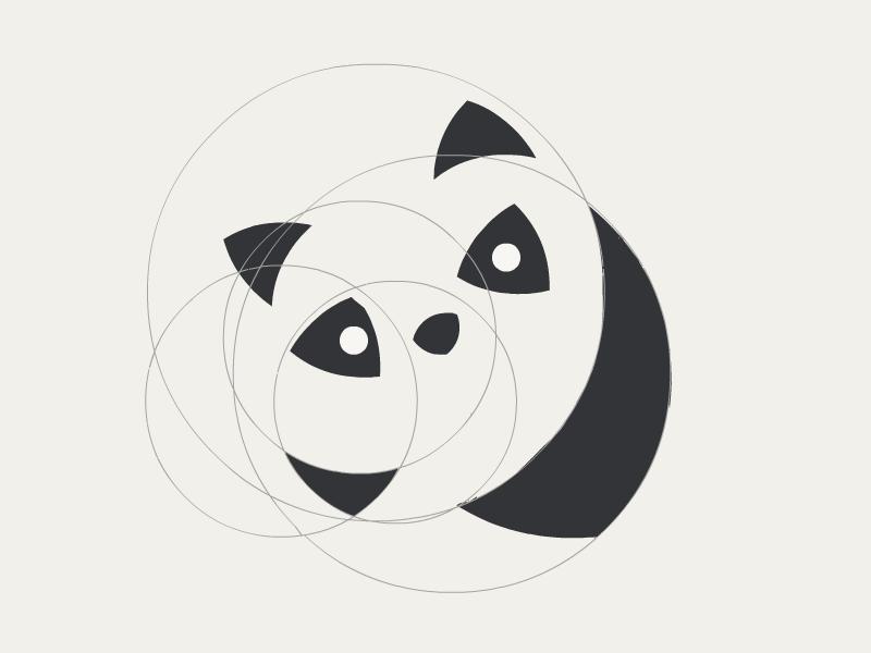 Panda WIP wip logo panda