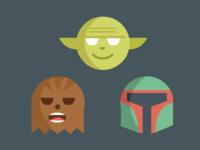 Starwars Heads