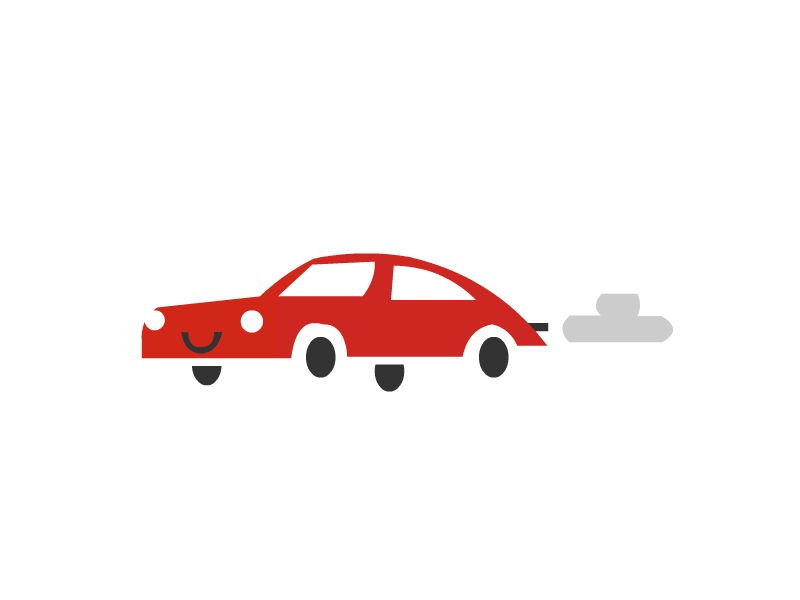 Red Car icon cloud logo truck car