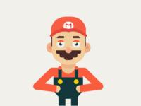Stoned Mario