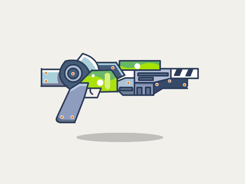Raygun weapon gun raygun