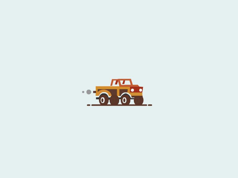 Truck car truck