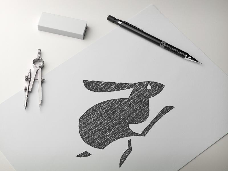 Rabbit Logo WIP logo branding logo wip rabbit logo rabbit