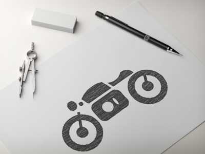 Motobike Sketch WIP