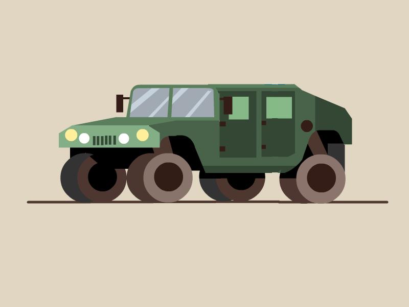 Military Truck guns cars car army truck