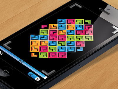 Directional Gem Matching Game Screen