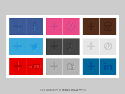 Social Icons Download