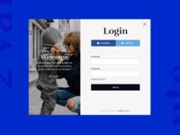 Login & Registration Form