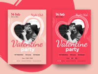 Valentines Day Flyer/Poster Event