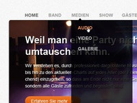 Top40 Band Website