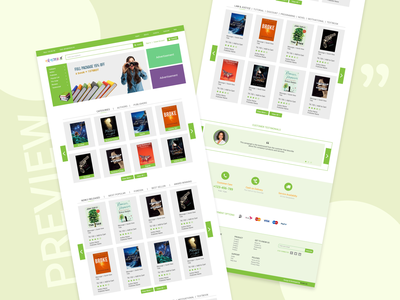 Online Book Store ecommerce ebook store web app user experience design user interface design book store app online book store ebook website design web design ux ui graphic design design beautiful amazing