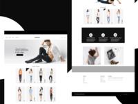E-Commerce web template