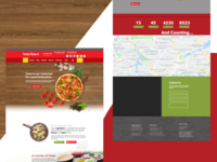 Pizza Web Template