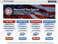 Memorial Day microsite