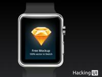 Apple Watch Vector Mockup