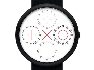 IXO Watch wristwatch time product industrial design watch