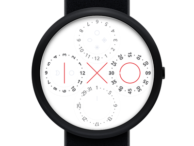 IXO Watch wristwatch time product industrial design watch