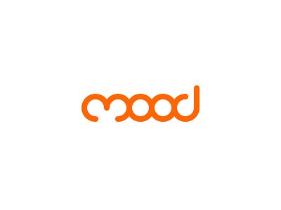 Mood logo lettering identity flat branding design logo