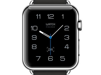 Watch facade clock time apple watch face type watch ui