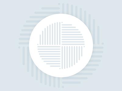 Roller Coaster flat design vector illustration merch round muted geometric stickermule coater