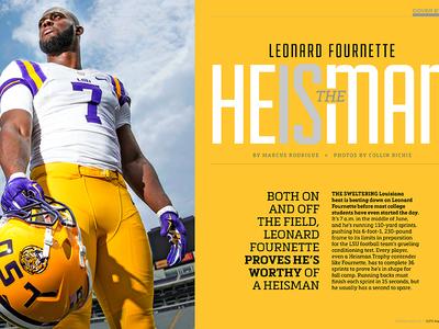 225 magazine / August 2015 cover story: Leornard Fournette
