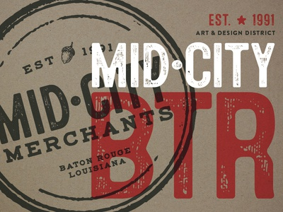 Mid City Merchants rebrand