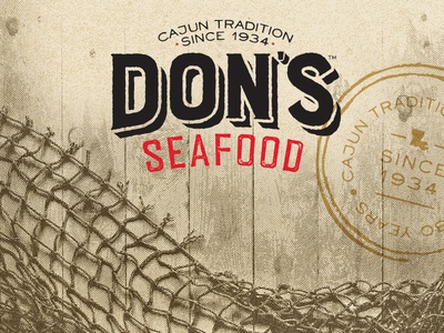 Don's Seafood rebrand