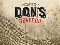 Don's Seafood rebrand