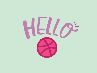 First Shot free throw welcome dribbble hello shot first