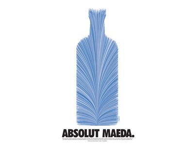 Absolut Maeda (1997) vintage