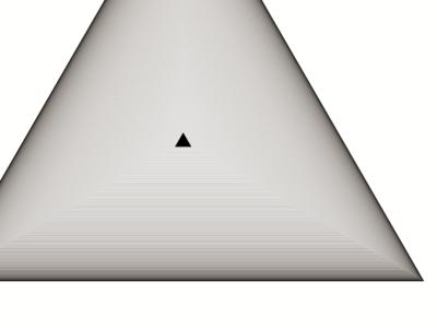 CMYK Triangle vintage