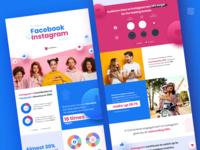 Infographics figma instagram facebook branding design icon
