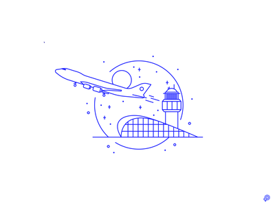 Lift On branding line icons 2d design lines monochrome icon lineart illustration
