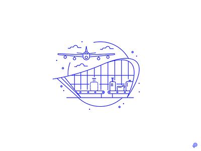 Lost vector branding linen icons design lines monochrome icon lineart illustration