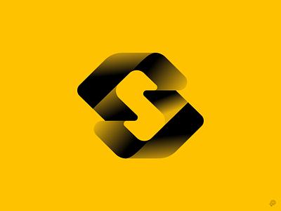 S mark logos gradientlogo gradient s monochrome icon design logodesigner illustrator vector branding logo