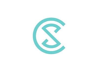 C S letters logo cs icon logo