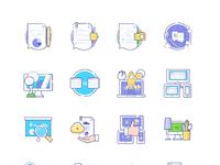 Sp icons full 16pcs