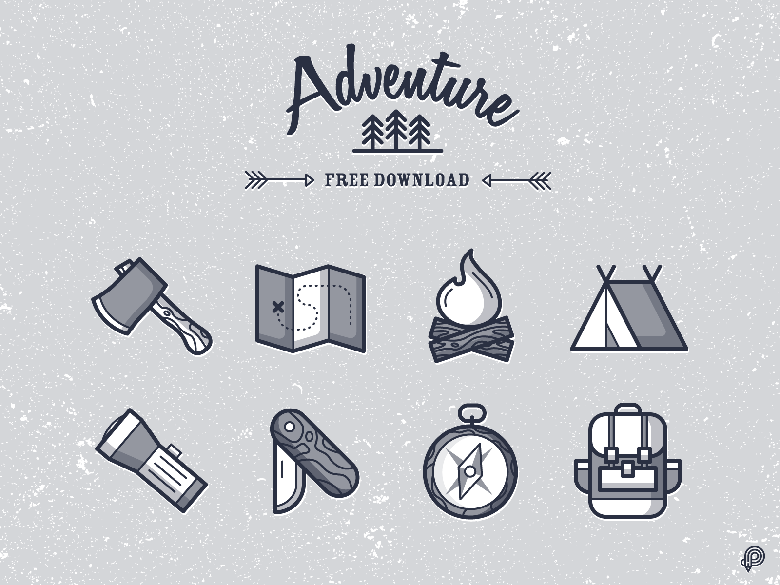 Adventure Icons (Free Download)