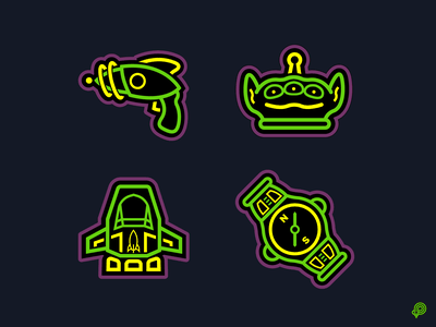 Buzz Icons toystory buzzlightyear vector ui design icons 2d line lines monochrome icon lineart illustration