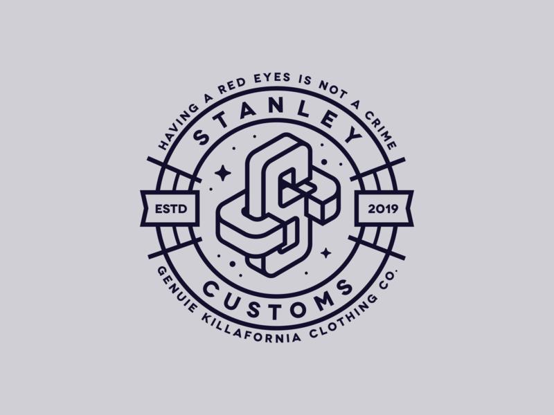 SC badgelogo badge logotype logodesign design vector hemp branding logo