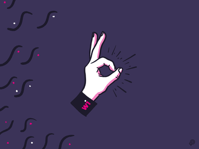 Hand branding hand handdraw design 2d lines icon illustration