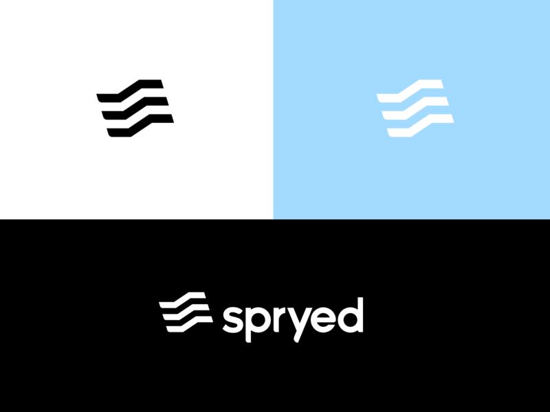 Spryed design logodesign mark logotype branding brand logo