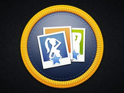 Rater badge badge star photo