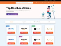 Top Cashback Stores