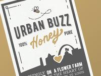 Urban Buzz - Honey Label
