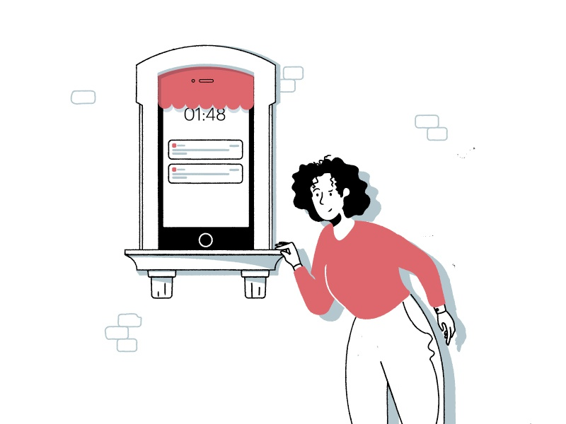 Privacy Swing & Miss notifications iphone security privacy illustration