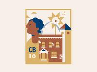 Brick City Badge