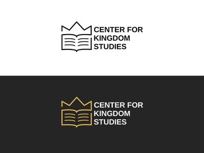 Crown + Book Logo