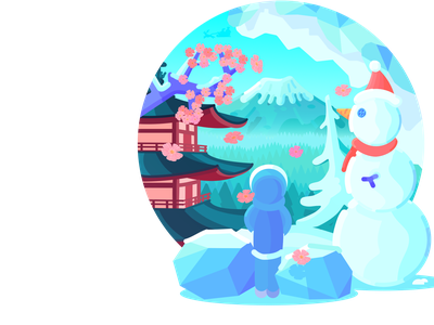 Winter Badge art graphic design design icon vector illustration